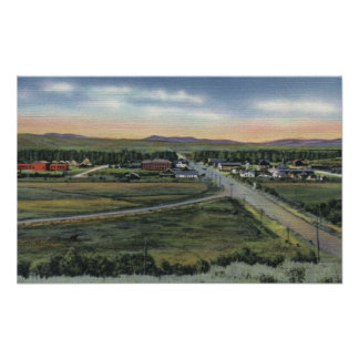 Pinedale, WY - County Seat of Sublette County Poster