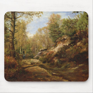 Pines & Birch Trees or The Forest of Mouse Pad