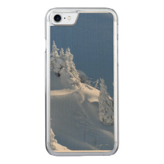 Pines Covered with Snow Carved iPhone 7 Case