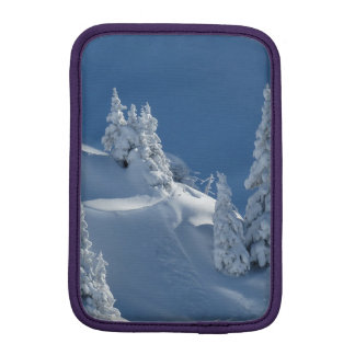 Pines Covered with Snow iPad Mini Sleeve