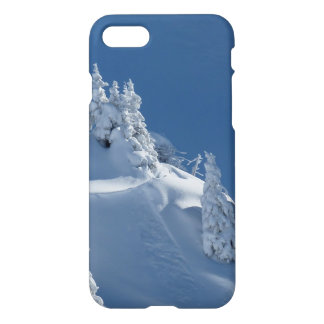 Pines Covered with Snow iPhone 7 Case