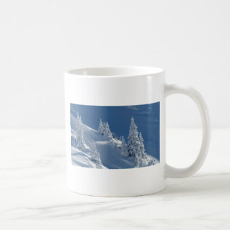 Pines Covered with Snow Mug