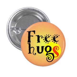 pines short prop Free hugs GS enterlaced 3.2 cm 1 Inch Round Button
