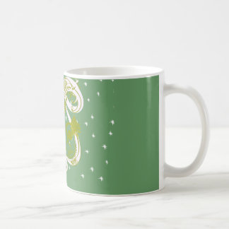 Pines with Moon-Customize Change BackGround Color Classic White Coffee Mug