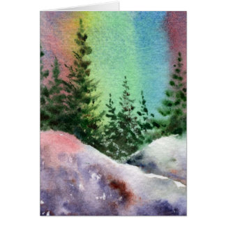 Pinescape Greeting Card