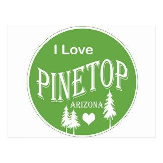 Pinetop Arizona Postcard