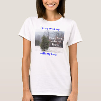 PineTree in the snow-customize T-Shirt