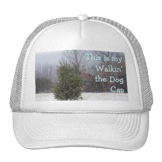 PineTree in the snow-customize Trucker Hat
