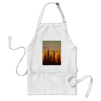 Pinetree Sunset Adult Apron