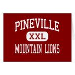 Pineville - leones de montaña - alto - Pineville Felicitaciones