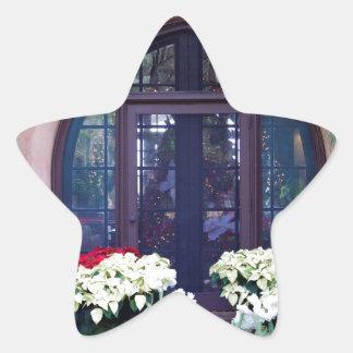 Pinewood Christmas Star Sticker