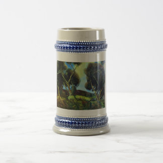 PINEWOOD IN TUSCANY BEER STEIN