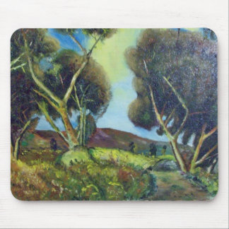 PINEWOOD IN TUSCANY MOUSE PAD