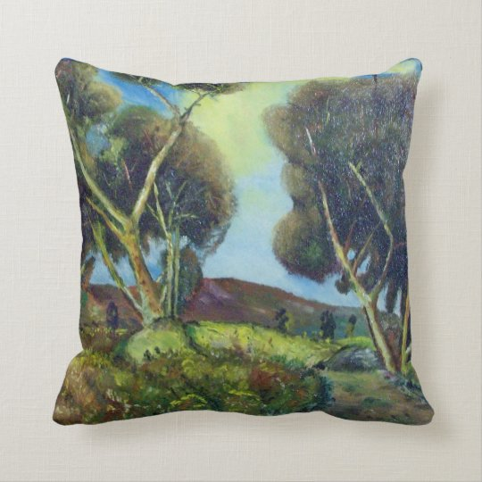 PINEWOOD IN TUSCANY THROW PILLOW