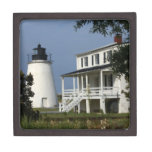 Piney Point Lighthouse Premium Jewelry Boxes