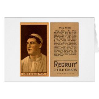 Ping Bodie White Sox Baseball 1912 Card