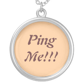 Ping Me Necklace