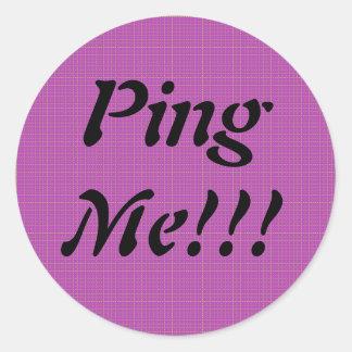 Ping Me Sticker