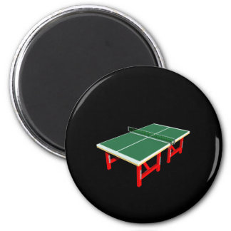 Ping Pong 2 Inch Round Magnet