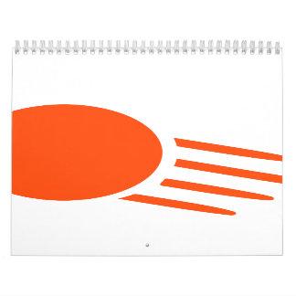 Ping pong ball calendars