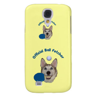 Ping Pong Ball Fetcher Dog Galaxy S4 Cover