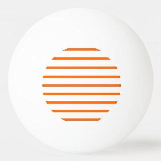 Ping Pong Ball Orange - White