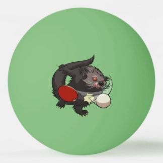 Ping Pong Binturong Table Tennis Player Bearcat Ping-Pong Ball