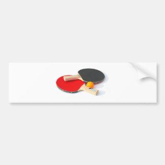 Ping Pong Bumper Sticker