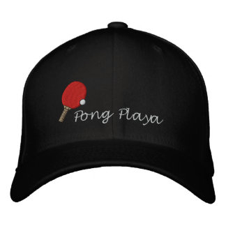 Ping Pong Champ Hat Table Tennis Customizable