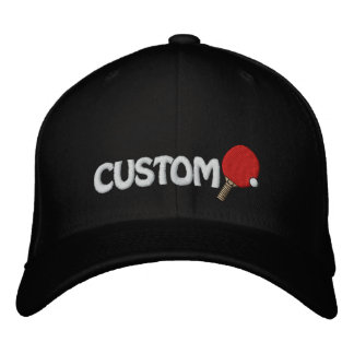 Ping Pong Champ Hat Table Tennis Customizable Embroidered Hats