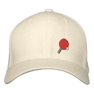 Ping Pong Champ Hat Table Tennis Embroidered Hat