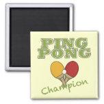 Ping Pong Champion Magnet