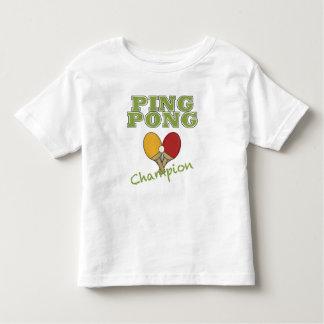 Ping Pong Champion Toddler T-shirt