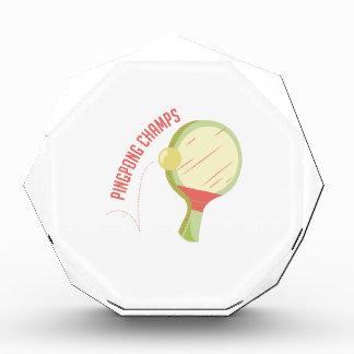 Ping Pong Champs Awards
