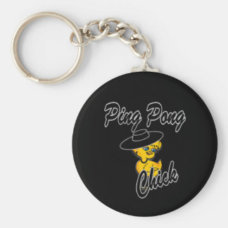 Ping Pong Chick #4 Key Chains
