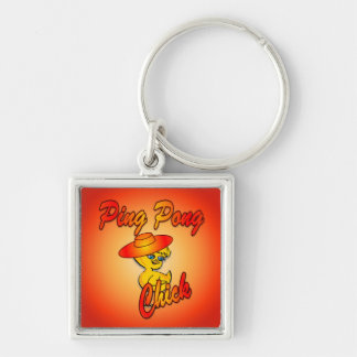 Ping Pong Chick #5 Keychain