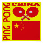 Ping-pong de China Poster
