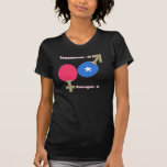 Ping-pong de la testosterona camisetas