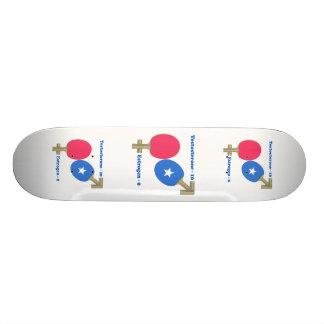 Ping-pong de la testosterona tablas de skate