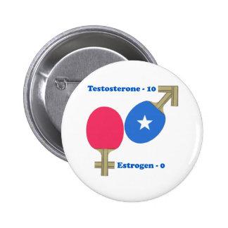 Ping-pong de la testosterona pin redondo 5 cm