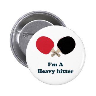 Ping-pong del bateador pesado pin redondo 5 cm