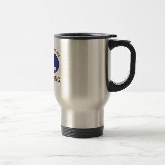 ping pong design travel mug