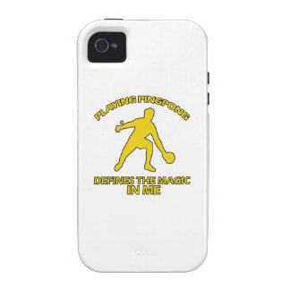 Ping Pong DESIGNS iPhone 4/4S Cases