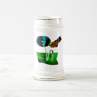 PING PONG EQUIPMENT BEER STEIN