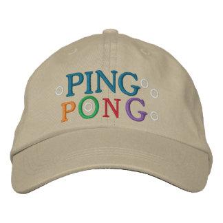 PING-PONG GORRO BORDADO