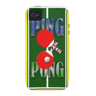 Ping Pong Iphone 4/4S Case