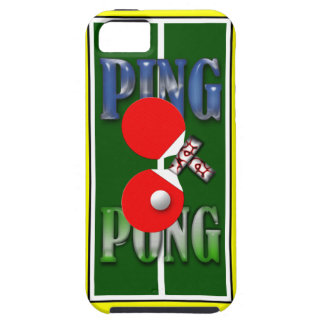 Ping Pong Iphone 5 Case