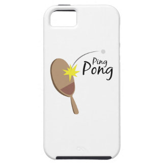 Ping Pong iPhone 5 Covers