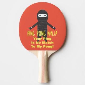 Ping Pong Ninja Funny Ping Pong Paddle