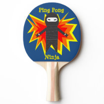 Ping Pong Ninja Paddle